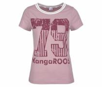 T-Shirt helllila / rosa / weiß