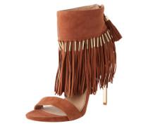 Sandaletten 'Vivian' camel / braun / cognac