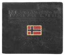 Cork Billfold 8 Geldbörse Leder 12 cm schwarz