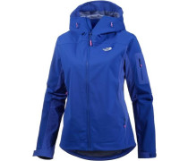 'Water Ice' Softshelljacke Damen blau