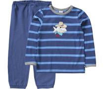 Capt'n Sharky Schlafanzug blau