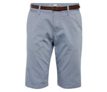 Chino Shorts 'jim' rauchblau