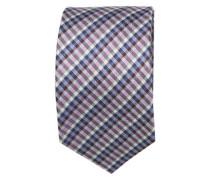 Krawatte ' Brown Label ' blau / royalblau / hellblau / grau / lila / weiß