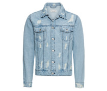 Jeansjacke 'rocker Bleach Denim Jacket Exp'