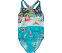 Kinder Badeanzug Andrea beige / blau / hellblau / grün / pink