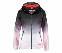 Windbreaker 'tri CLR ZIP Thru Spray C' navy / rosa