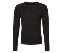 Grobstrick-Pullover 'Darcy' schwarz