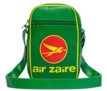 Tasche Air Zaire Airlines grün
