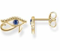 Paar Ohrstecker 'Auge H1918-922-32' blau / gold