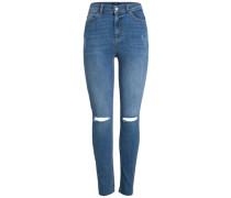 High Waist Jeans blue denim