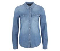 Jeansbluse 'Onlrock' blue denim