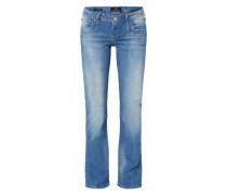 Bootcut Jeans 'Valerie' hellblau