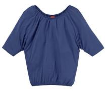 ¾ Arm Shirt mit Fledermausärmeln für Mädchen blau