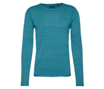 Pullover 'modern basic light sweater' blau