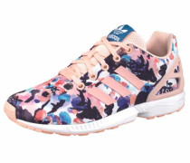 Sneaker 'ZX Flux Junior' nachtblau / koralle / weiß