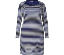 Nachthemd Dots and Stripes blau