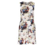 Kleid 'Ameschy1' blau / mischfarben / weiß