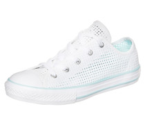 Chuck Taylor All Star Double Tongue OX Sneaker Kinder weiß