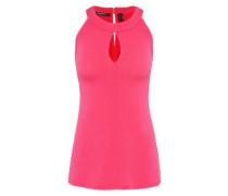 Bluse 'Halterneck' pink