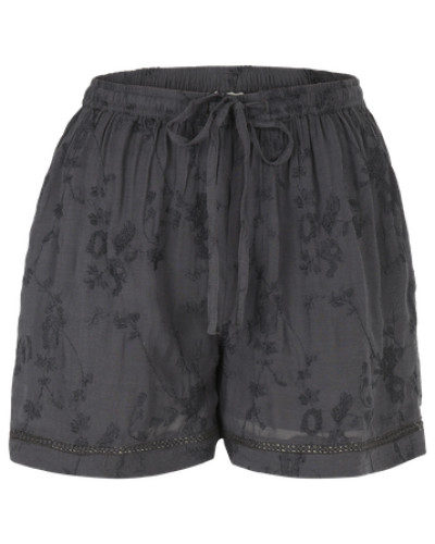 Stoff-Shorts 'Vijamila' basaltgrau