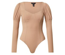 Damen - Shirts & Tops 'mini RIB LEF OF Mutton SLV Bdy'