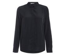 Langärmeliges Hemd schwarz