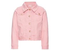 Twill-Jacke rosa