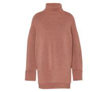 Oversized Pullover 'Meike' nude / rosé