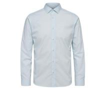 Langarmhemd hellblau