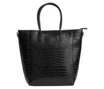 Kunstleder-Tasche 'objivy PU Shopper' schwarz
