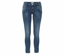 Skinny-fit-Jeans 'Giselle' blau