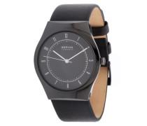 Armbanduhr 32039-442 schwarz