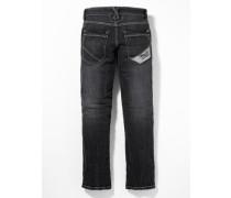 Used-Jeans 'Pete' schwarz
