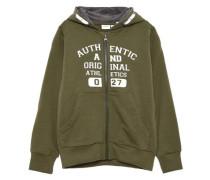 Sweatshirt mit Reißverschluss nitpaulis grün