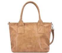 Handtasche 'Lova Vintage' hellbraun