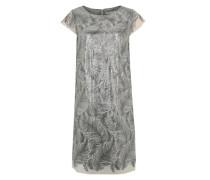 Kleid mit Pailletten mischfarben