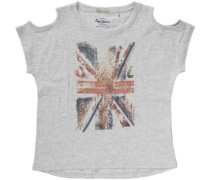 T-Shirt Cecilia grau