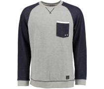 'coupled Sweatshirt' blau / grau