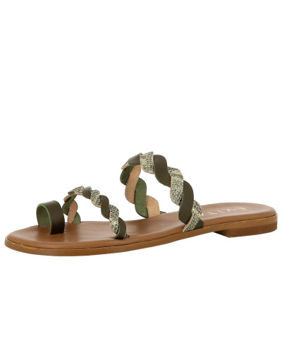 Sandale 'olimpia' mischfarben