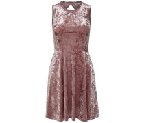 Kleid ohne Ärmel altrosa