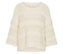 Oversized Pullover weiß