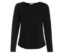Langärmlige Bluse schwarz
