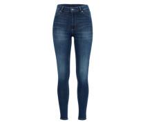 Acid Washed Jeans mit Zippern