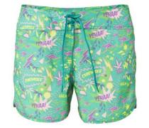 Shorts gelb / apfel / lila