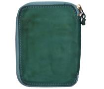 Sequoia Geldbörse Leder 10 cm smaragd
