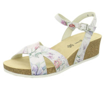 Sandalette mischfarben / weiß