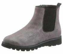Chelseaboots grau / schwarz