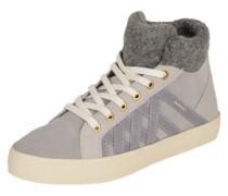 Sneaker 'Mary' hellgrau / flieder