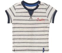 T-shirt 'Faedo' navy / graumeliert