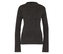 Pullover mit Alpakawolle 'Ivon' grau